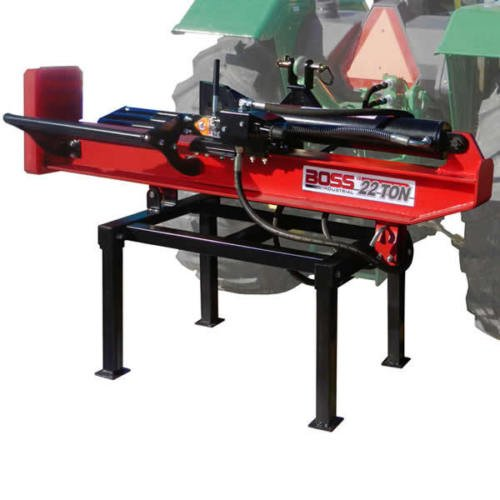 Boss Industrial 3Pt Horizontal/Vertical Log Splitter, 22 Ton