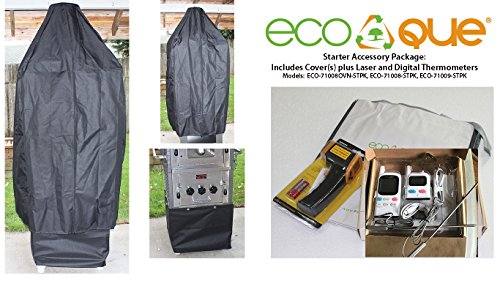 EcoQue Wood-Fired Pizza Oven & Smoker Generation 2 w/Starter Pack Accessories
