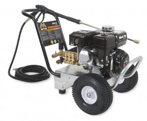 Mi-T-M WP-3000-4MHB Cold Water Direct Drive, 196cc Honda OHV Gasoline Engine, 3000 PSI Pressure Washer