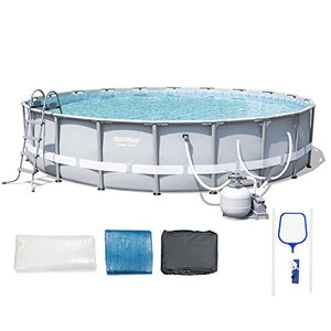 Bestway Steel Pro 20-Foot x 48-Inch Frame Pool Set