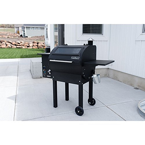 Camp Chef Magnum Outdoor Pellet Grill and Smoker, Black