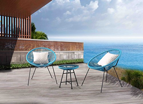 Velago 15804 Acapulco Outdoor Furniture, Blue