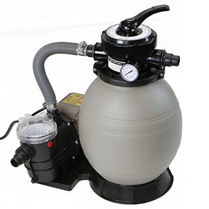 "XtremepowerUS 2640GPH 13"" Sand Filter w/3/4HP Digital Programmer Above Ground Swimming Pool Pump"