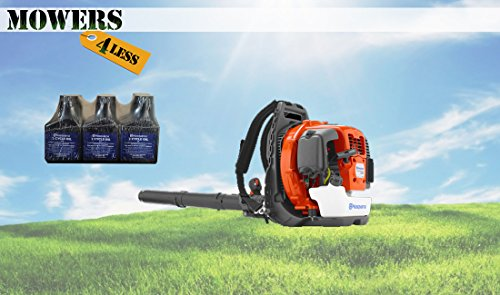 Husqvarna 360BT Blower + 6 Pack Oil
