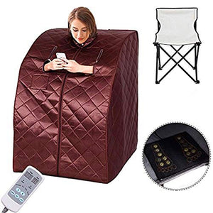 Portable Far Infrared Spa Sauna Slimming Weight Loss Negative Ion Detox Therapy Personal Heating Foot Pad FoldingPortable Electric Indoor Infrared Heater Kit Detox at Home Room Heater Outdoor Chair