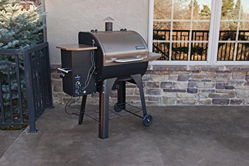 Camp Chef SmokePro SG Wood Pellet Grill Smoker, Bronze (PG24SGB)