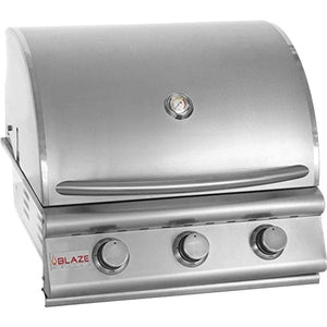 "25"" 3-Burner Built-In Gas Grill Gas Type: Propane"