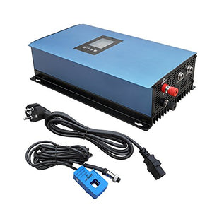 ECO LLC 1000W Solar Grid Tie Inverter Power Limiter, MPPT PV System DC 22-65V Inverter