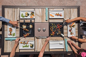 Generations Series Dual Table Grill W/Controls