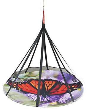 Flower House A-FHFS-BFLY Blooming Lounge Chair-Butterfly Hanging, Multi