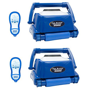 Water Tech Pool Blaster Max Power Rated 2000 Programmable Robotic Pool Cleaner (2 Pack)