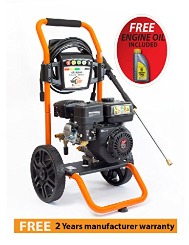 Gaspper Gp3300ha 3300psi 3 4 Gpm Gas Powered Cold Water