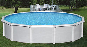 "Blue Wave NB1643 21' Round 52"" Samoan Steel Pool With 8"" Toprail in"