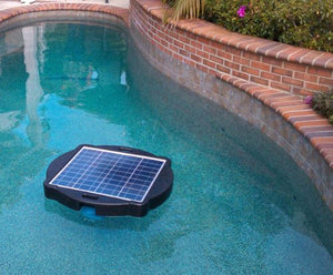 Natural Current Water Products NCSF10K Savior 10000-Gallon Solar Pool and Spa Pump and Filter System, Solar Pool Filter Pump