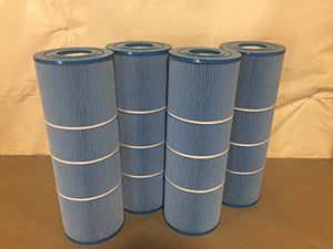4 Guardian Antimicrobial Pool Spa Filter Replaces C-7483 c-7483M Hayward C3025 CX580XRE PA81 FC-1225M FC-122 PA81-4-M PA81-4 C-3020 C-570 Microban Blue
