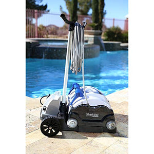 Hayward SharkVac XL Automatic Robotic Pool Cleaner with Caddy Cart RC9742WCCUBY (2 Pack)