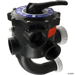 "Praher SM2-SR2 2"" Multiport Valve with StaRite Plumbing - Black"