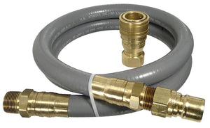 "1"" ID Quick Disconnect Gas Connector Kit (10 Feet)"