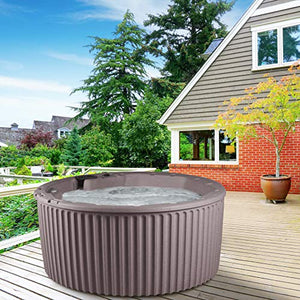 Essential Hot Tubs 20-Jet 2020 Arbor Hot Tub, Seats 5-7, Millstone