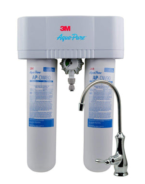 3M Aqua-Pure Under Sink Water Filtration System - Model AP-DWS1000 (Renewed)