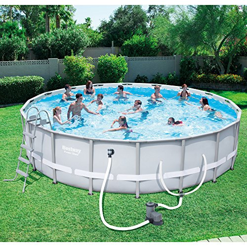 Bestway 18 X 48 Quot Power Steel Frame Above Ground Pool W O