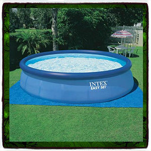 "Swimming Pool Intex 18' X 48"" Round Easy Set Above Ground Only Replacement Set Frame Pump Easy Filter Inflatable 18 48 Pools Swim Discount Patio New Guarantee - It Only Comes Along with Our Company's Ebook"