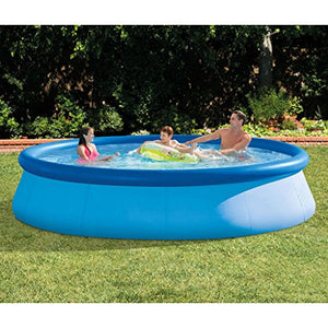 XiYunHan swimming pool Thicken Large adult Paddling pool   family child swimming pool 39684CM Dish shape 3-5 people blue