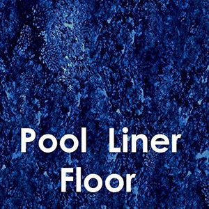 "Quality Pool Products Great Barrier Reef 18x33 ft Oval Beaded x 48"", Above Ground Pool Liner (18'x33' Oval)"