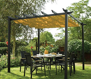 Prugist PatioParadise Latina Free-Standing Retractable Canopy