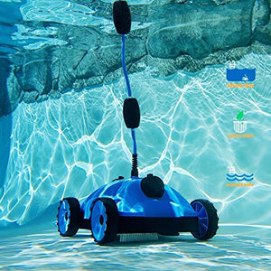 Eight24hours water bots Above/in Ground Swimming Pool Rover Robotic Floor vacuums Cleaner