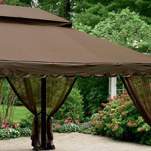 12 x 16 Ft Gazebo Replacement Canopy