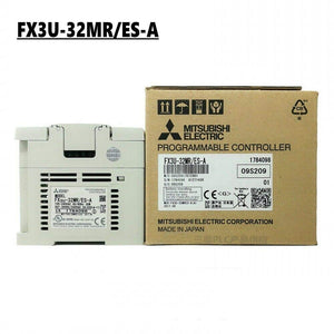 100% NEW MITSUBISHI PLC FX3U-32MR/ES-A IN BOX