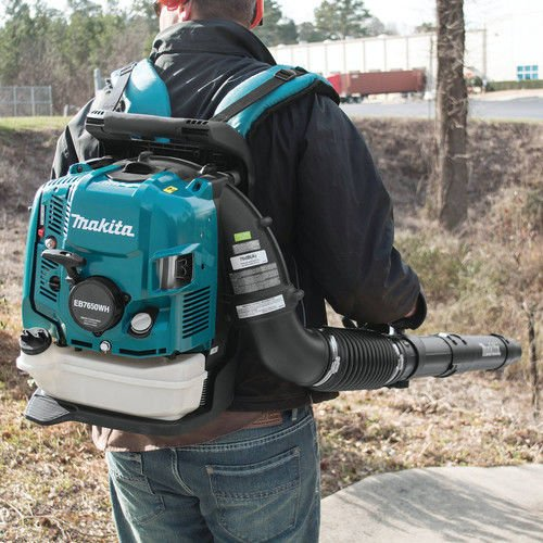 Makita EB7650WH 75.6 cc MM4 4-Stroke Engine Hip Throttle Backpack Blower
