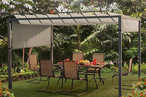 PatioParadise Louvered Pergola