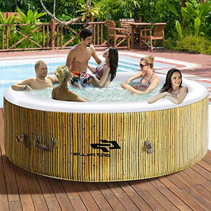 Hulaloveshop 6-Person Portable Outdoor Spa US Ship 5-7 Days