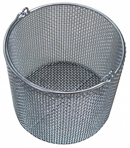Stainless Steel Parts Basket, Silver