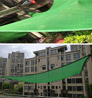 FAFZ Shading net green shading net shading insulation net balcony top fleshy flower sunscreen net sunshade sail canopy (Color : A, Size : 68m)