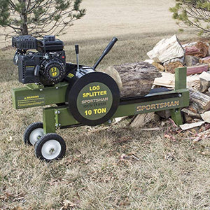 Sportsman Gas Powered 10 Ton Horizontal Kinetic Log Splitter