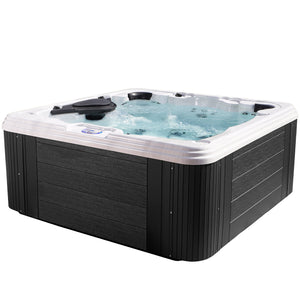Essential Hot Tubs 60-Jet Omni Hot Tub, Seats 6-7, Grey