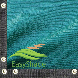 XTARPS Premium Green Color 90% Shade Cloth, Shade Sail, 20 ft X 40 ft