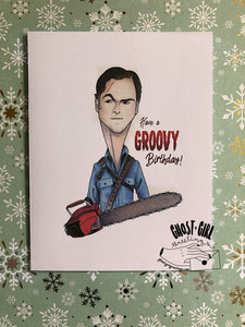Birthday card: Groovy Birthday