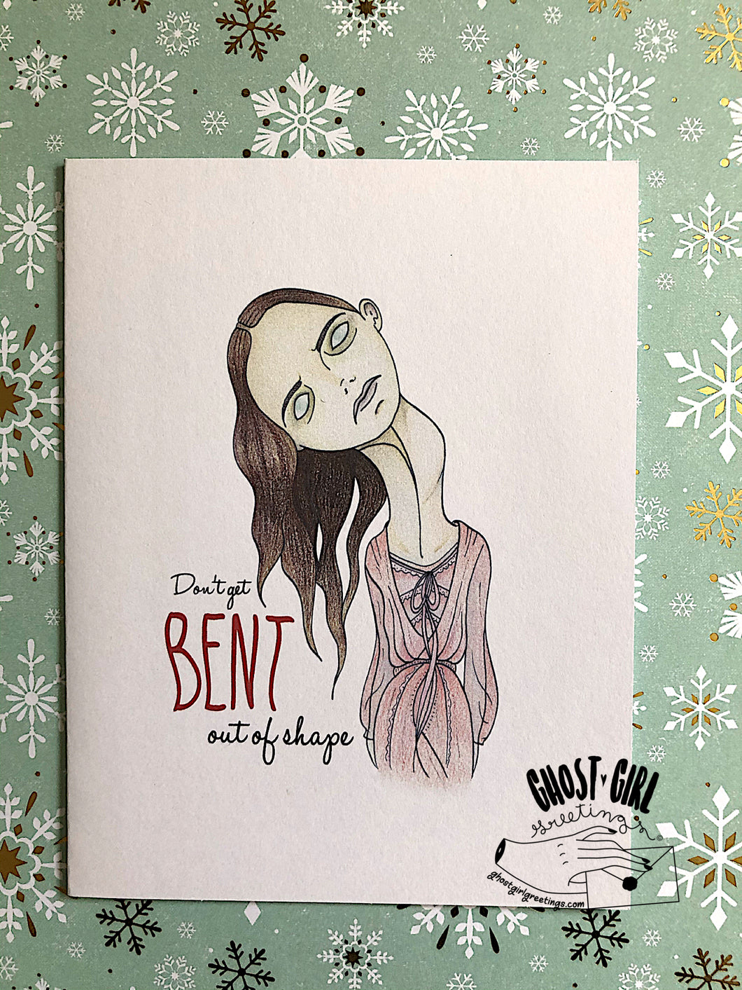 Haunting of Hill House, Bent Neck Lady, Horror Birthday Cards