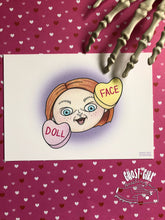 Load image into Gallery viewer, Doll Face, 5x7 print