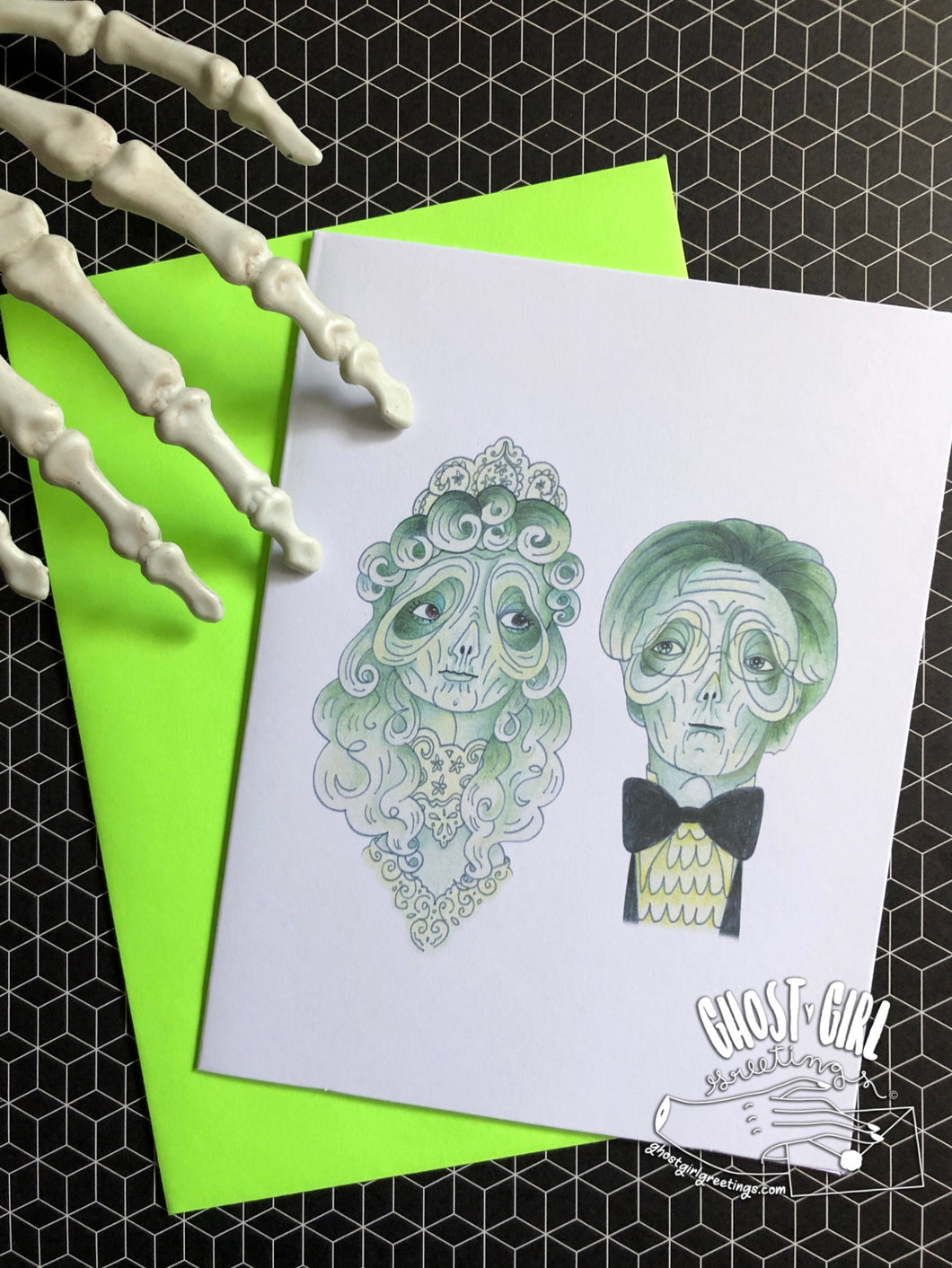 Greeting card for the recently deceased