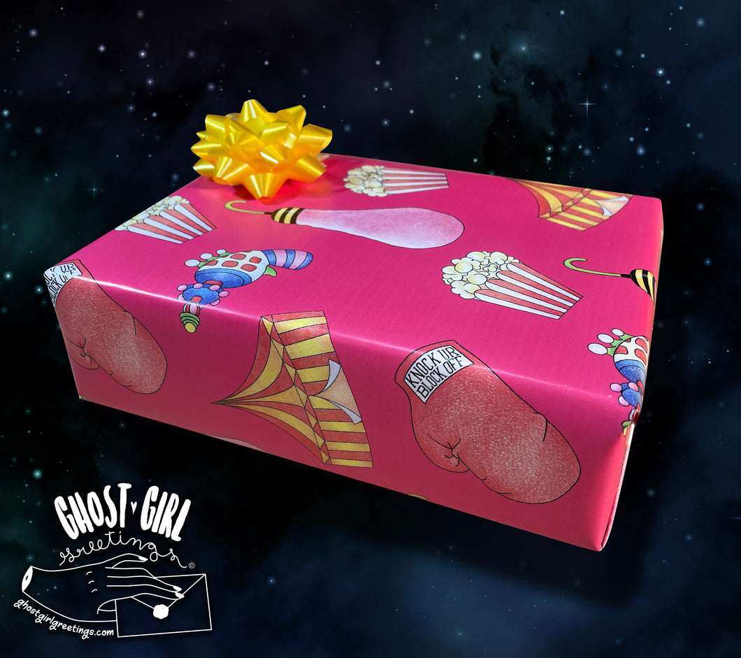 Gift Wrap Set- Outer Space V2