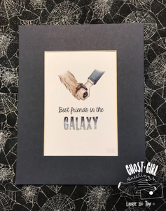 Print: Best Friends in the Galaxy