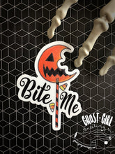 Load image into Gallery viewer, Vinyl Sticker: Bite Me