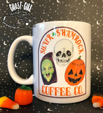 Load image into Gallery viewer, Sold Out Mug: Silver Shamrock Coffee Co