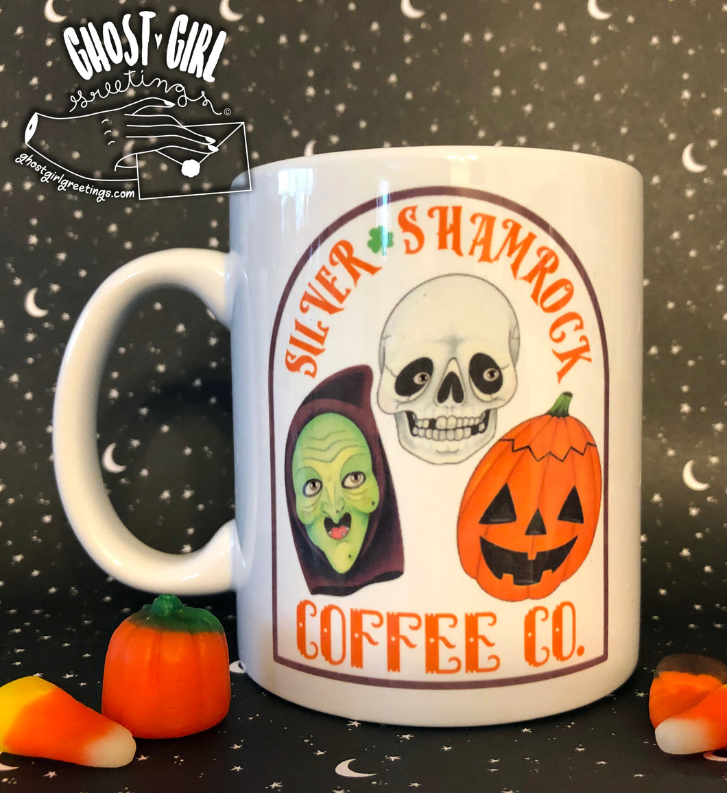 Sold Out Mug: Silver Shamrock Coffee Co