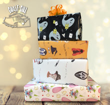 Load image into Gallery viewer, Sold out- BRB Gift Wrap Set- Rules of Halloween